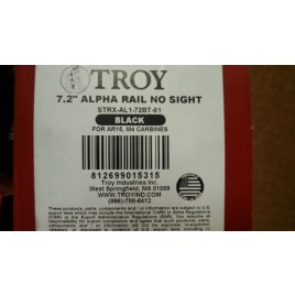 TROY INDUSTRIES 7.2 ALPHA BLACK